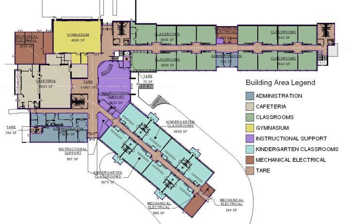 Area Plan Upper Level