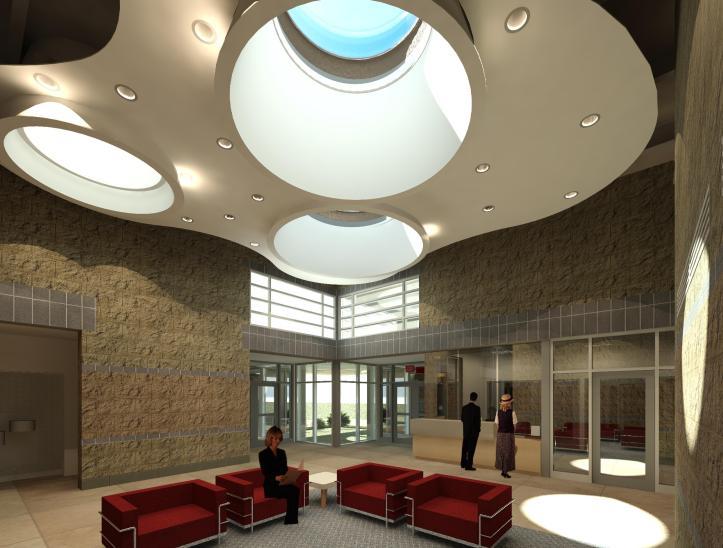 Interior - View from Waiting toward Main Entrance